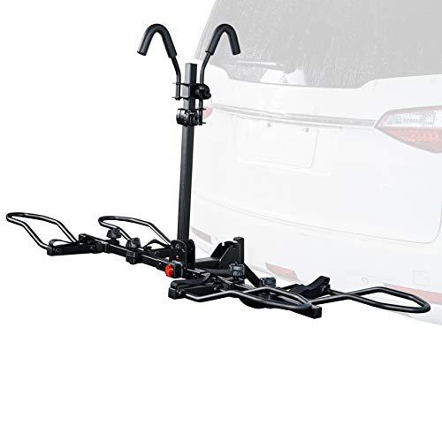 Mounted Rack 2-Bike Platform Style Carrier for Standard
