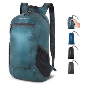 Water Resistant Ultra Lightweight Backpack for Travel