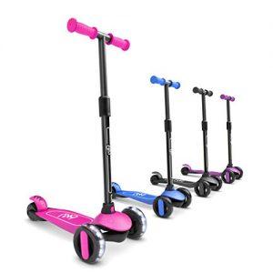 6KU Kids Scooter with Flash Wheels