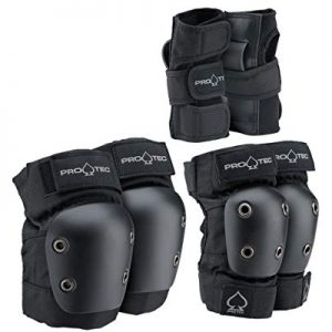 Elbow, Knee, and Wrist Pad Protective Gear Set