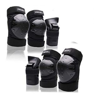 Protective Gear Set For Adult/Youth Knee Pads