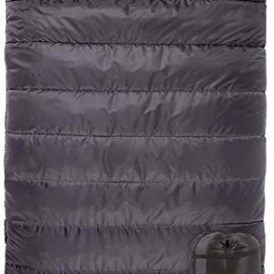 Queen-Size Double Sleeping Bag with Compression Sack