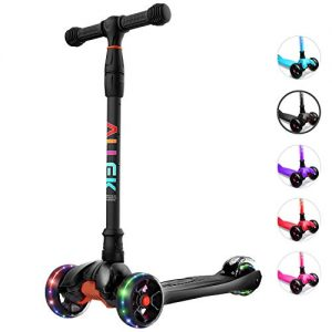 Glide Scooter with Extra Wide PU Light-Up Wheels