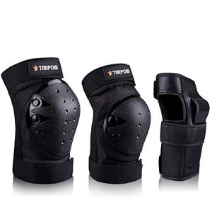 Elbows Pads Wrist Guards 3 In 1 Protective Gear Set For Skateboarding