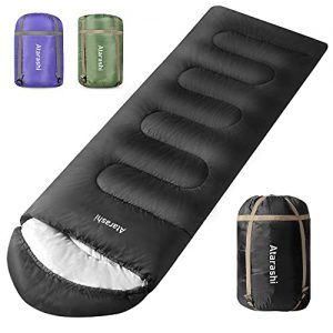 Camping Sleeping Bag for Adults, Light, Warm