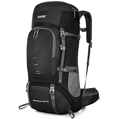 Water Resistant Camping 50L Hiking Backpack