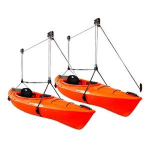 StoreYourBoard 2 Pack Kayak Ceiling Storage Hoist
