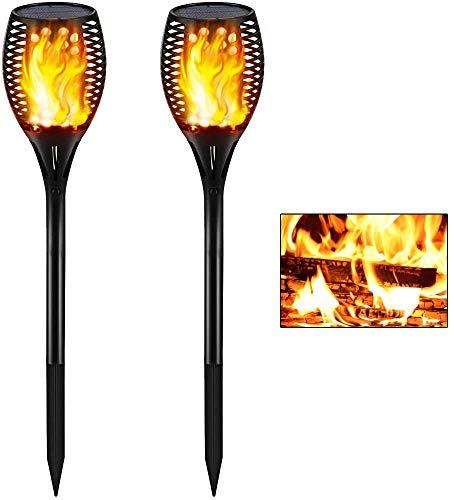 Flickering Flames Torch Solar Lights Upgraded