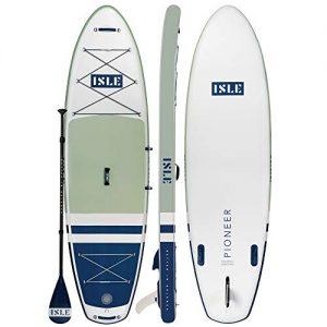 ISLE Pioneer Inflatable Stand Up Paddleboard & iSUP Bundle