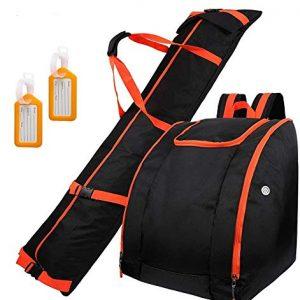 Waterproof Skiing Bag Combo with 2 Luggage Tag