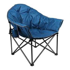 Heavy-Duty Oversize Camping Chair Round Moon