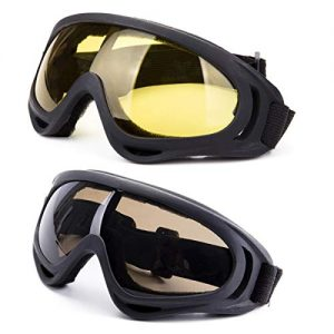 2-Pack Snowboard Goggles with UV 400 Protection