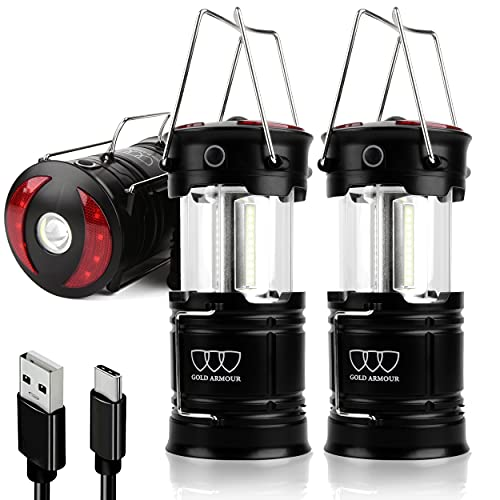4 Mode LED Lantern Rechargeable Camping