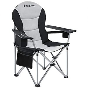 Oversized Camping Chair with Lumbar Back Support