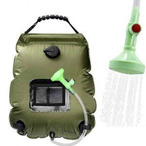 Solar Shower Bag Portable Shower for Camping Heating