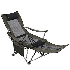OUTDOOR LIVING SUNTIME Camping Folding Portable Mesh Chair