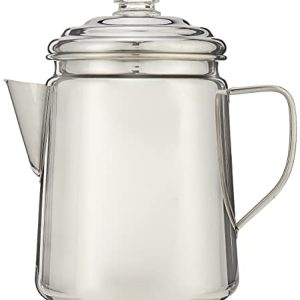 Coleman 12-Cup Stainless Steel Coffee Percolator
