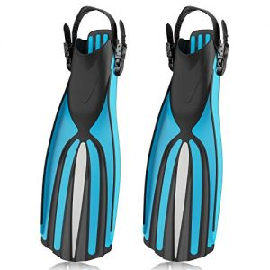 Adjustable Buckles Scuba Diving Fins for Snorkeling, Swimming