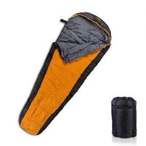 Camping, Hiking, Fishing Lightweight Mummy Sleeping Bag