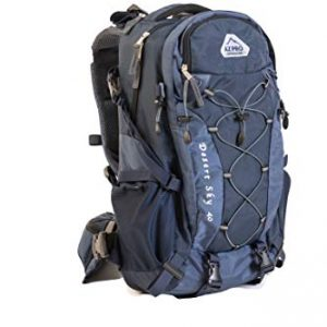 Hiking Day Pack, Attractive Travel 3-Way Backpack Series 40L