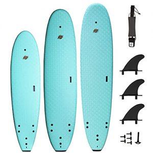 Premium Foam Surfboards - Wax-Free Soft-Top Surfboards