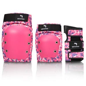 WhiteFang Knee Pads for Kids/Youth/Adult
