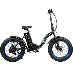"""20"""" Powerful Folding Electric Bicycle LED Display"""