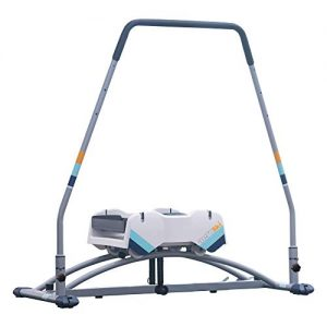 Workout Exercise Machine with Recoil Spring Resistance