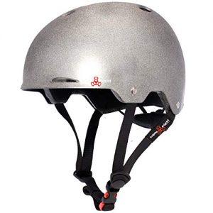 Reflective Skateboard and Bike Helmet for Night Riding