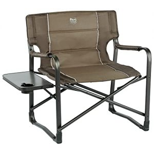 Chairs with Side Table Folding Camping Chair up to 600 Lbs