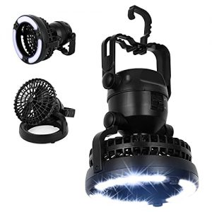 2-in-1 Portable Hanging Camping Fan