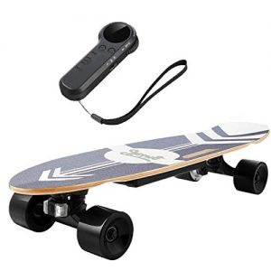 Electric Skateboard with Remote Control Electric Longboard
