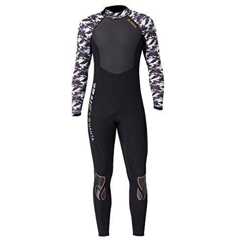 CapsA Long Sleeve Wetsuit for Men