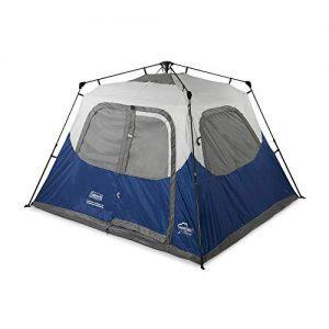 6-Person Instant Tent Coleman Blue