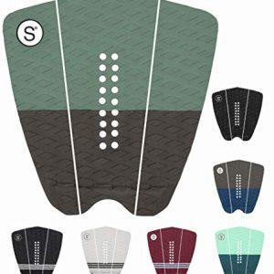 SYMPL Surfboard Traction Pad 3-Piece Deck Pad for Surfing