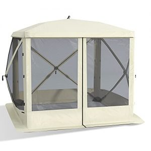 Pop Up Camping Canopy Gazebo Screen Shelter Tent