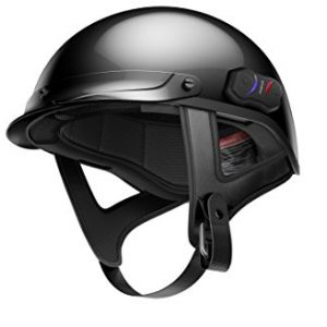 Gloss Black X-Large Bluetooth Helmet
