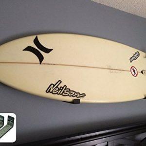 Minimalist Surfboard Wall Rack