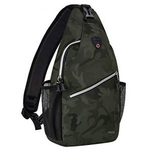 Hiking Daypack Pattern Rope Crossbody Shoulder Bag