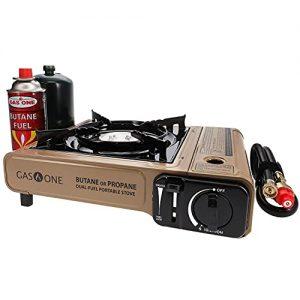 Portable Camping Propane or Butane Stove Dual Fuel