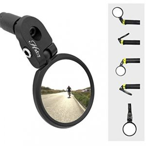Stainless Steel Lens Bicycle Mirror