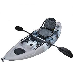Solo Sit-On-Top Kayak w/Upright Back Support