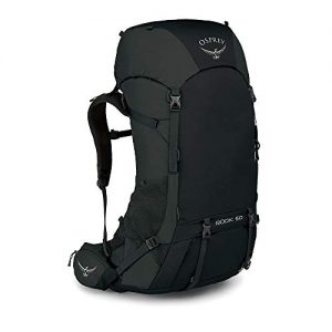 Black Men's Backpacking Backpack