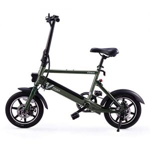 """Viribus 14"""" Electric Bike with Folding Pedals and Handlebar"""