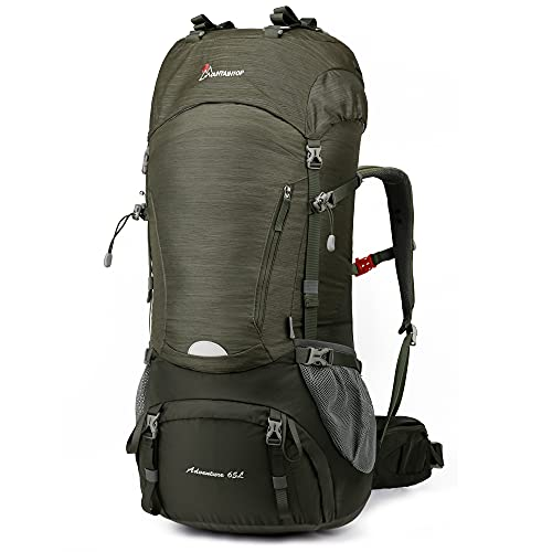 65L Internal Frame Backpack with Rain Cover