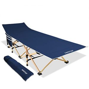 Heavy People Bed Oversized Folding Portable with Carry Bag