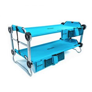 Benchable Camping Cot with Organizers