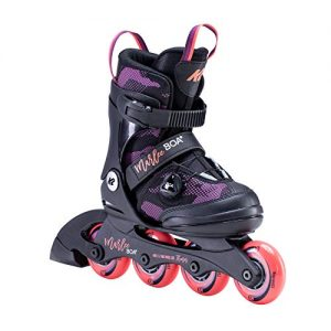 Adjustable - Five full sizes of adjustability will keep these skates in use for more than just one season
