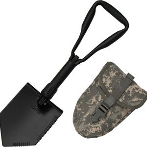 Entrenching Shovel with ACU OR Multicam Carrying Case