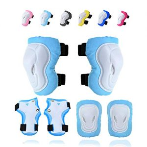 Knee Pads Elbow Pads Wrist Guards Protective Gear Set